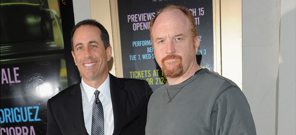 Jerry Seinfeld Zings Golf Again In 'Louie' Premiere
