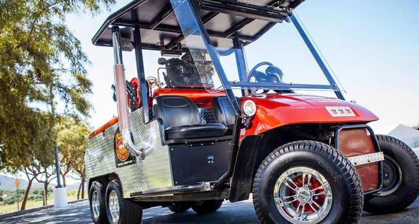 Frankencart: Four Old Golf Carts and a Pontiac