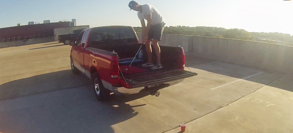 Two Guys + Pingpong Balls + Red Solo Cup = Amazing Trick Shots