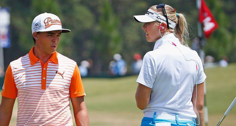 LPGA Pros Practice Alongside PGA Players at U.S. Open