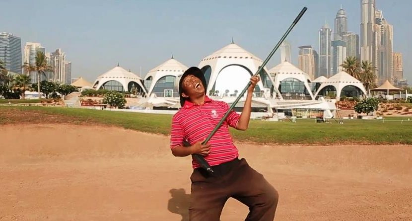 Golf Employees in Dubai Can't Dance, But Sure are 'Happy'