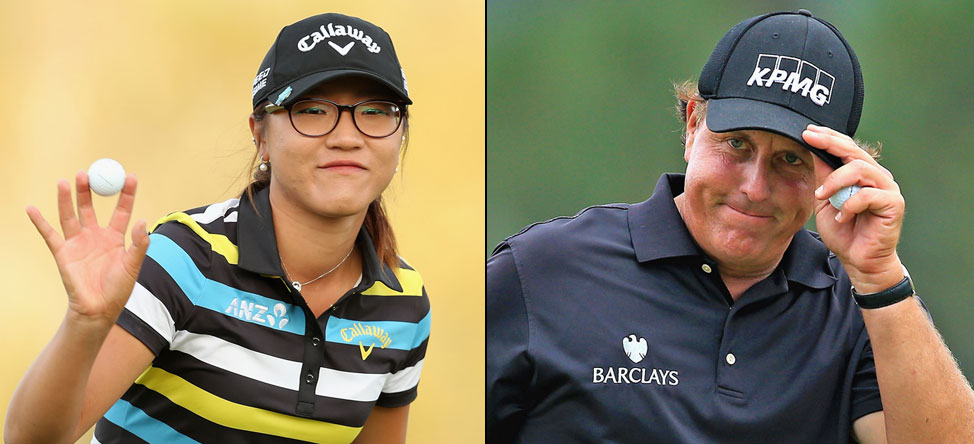 Lydia Ko Shadows Phil Mickelson, Studies Up on Pinehurst