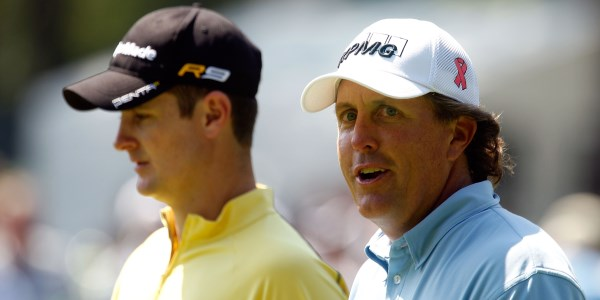 Phil Mickelson Justin Rose 600