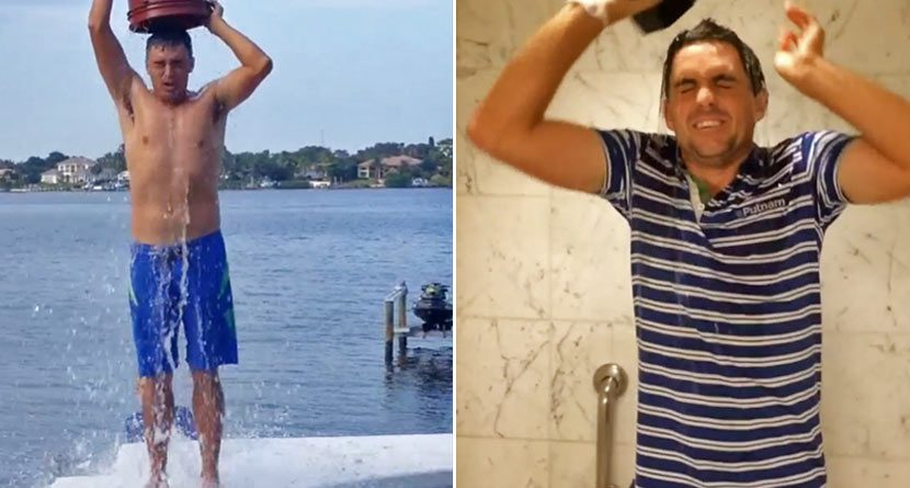 Ice Bucket Challenge Continues with Pro Golfers