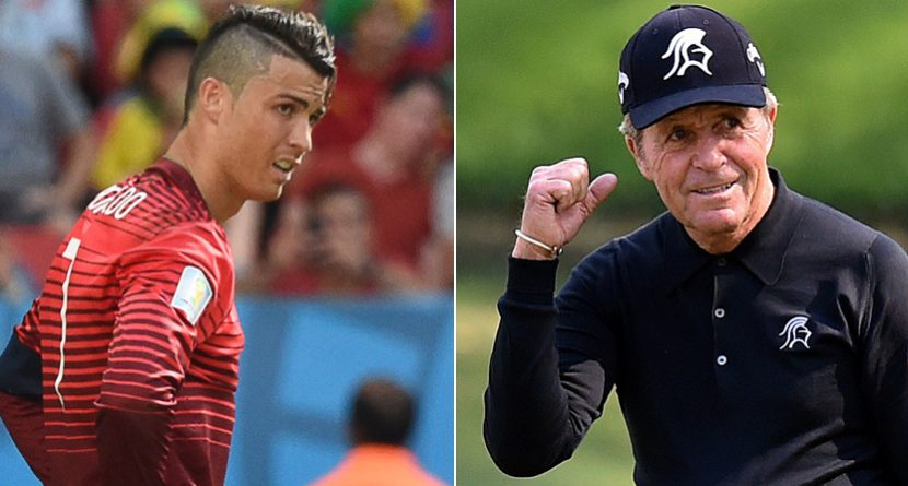 Gary Player Asked Ronaldo to Help U.S. Soccer; It Worked?