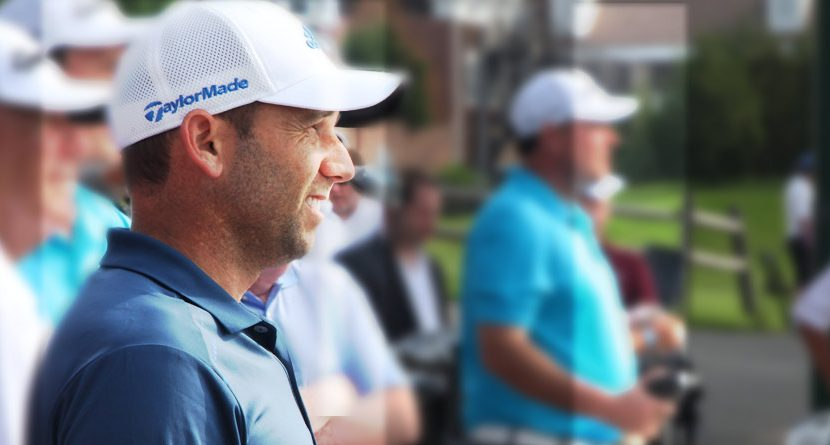 Sergio Garcia Surprises Golfers, Hands Out Free TaylorMade Drivers