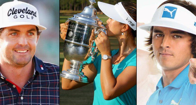 Bradley, Fowler Claim Credit for Wie's U.S. Women's Open Win