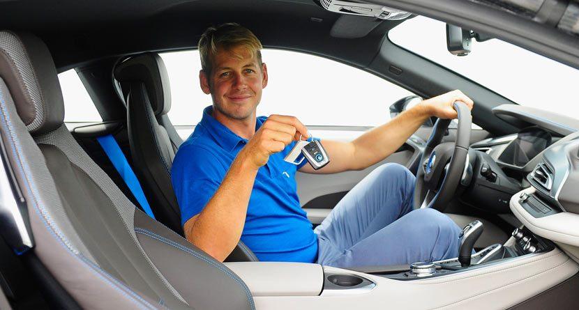 James Heath Makes an Ace, Wins 2015 BMW i8