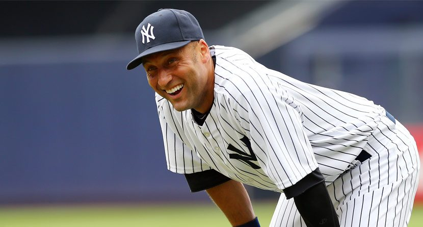Derek Jeter Gets New Set of Clubs, Custom Bag from PGA