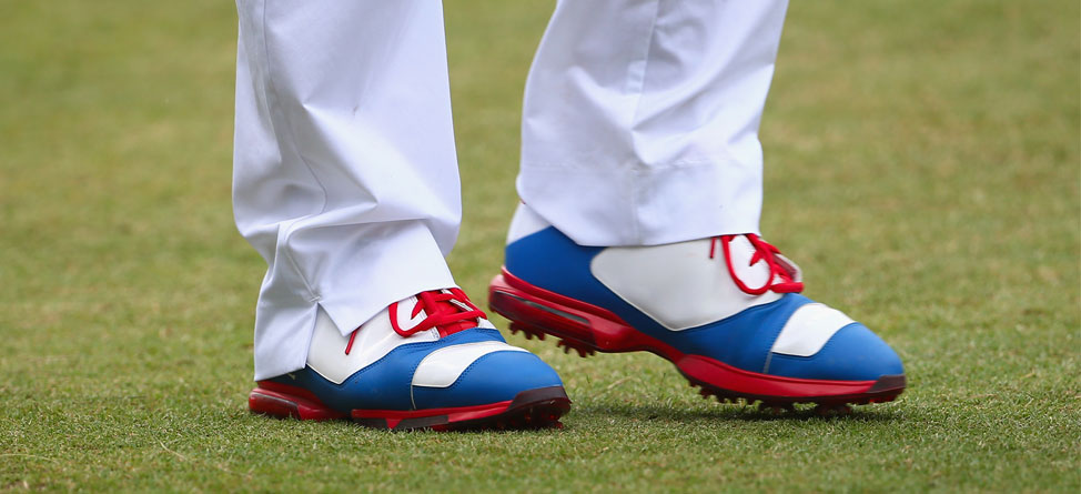 Day-by-Day Look at Keegan Bradley's U.S. Open Jordan Shoes