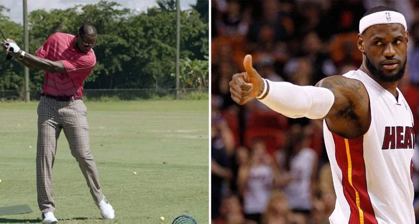 Decision 2.0: Where Should LeBron James Take His Bad Golf Talents?
