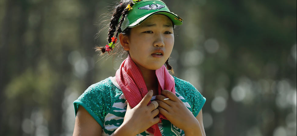 11-Year-Old Lucy Li Unfazed by U.S. Women's Open Spectacle