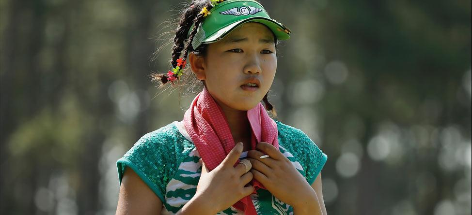 11-Year-Old Lucy Li Unfazed by U.S. Women's Open Spectacle