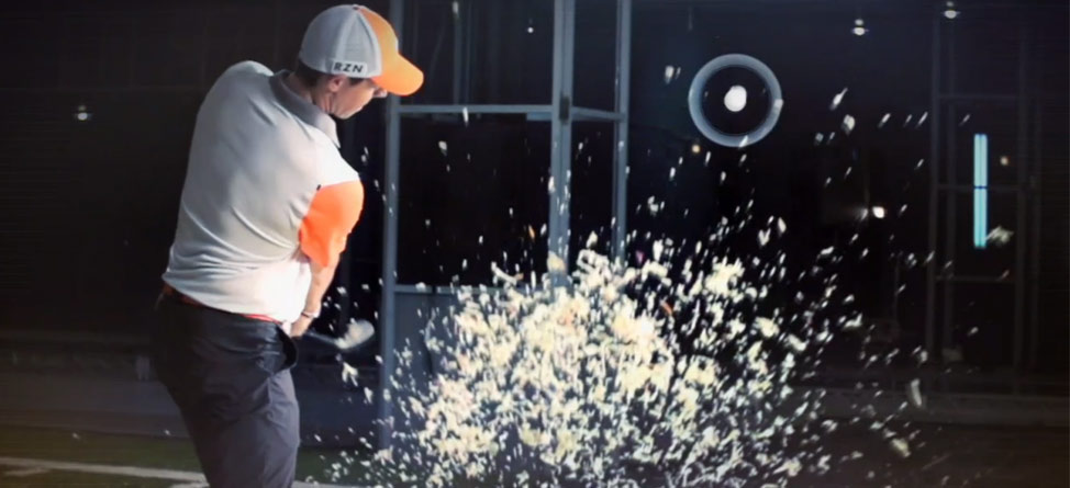 Rory McIlroy Hits His Way Out of Coleslaw… Seriously