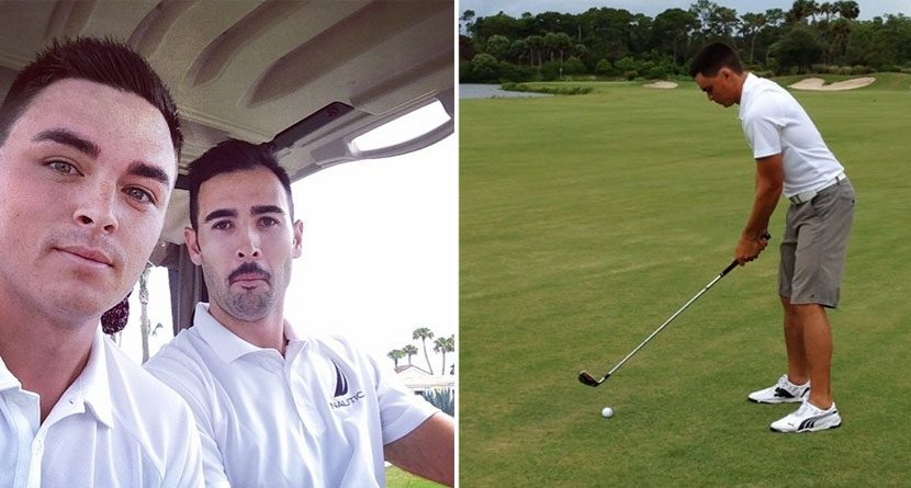 Opposite Day: Rickie Fowler and Cameron Tringale Play Lefty