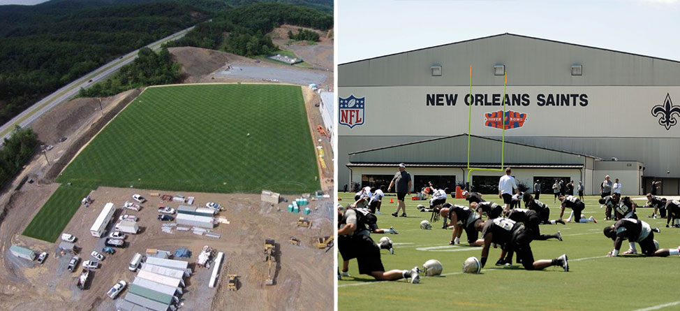 New Orleans Saints to Hold Training Camp at The Greenbrier