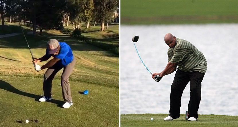 James Stewart Imitates Charles Barkley's Swing To Imperfection
