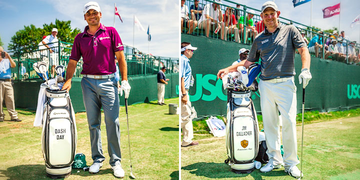 TaylorMade Staffers Celebrate Father's Day with Golf Bags