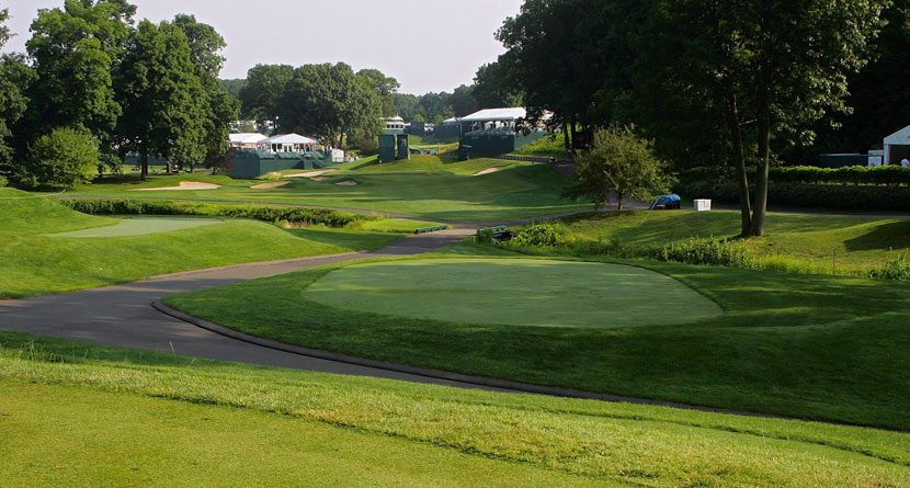 Eagles Soar at 15th Hole of Travelers Championship