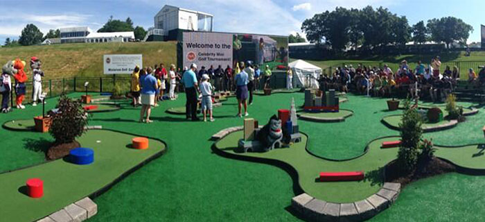 Celebrity Mini Golf Tournament Features Awesome Course