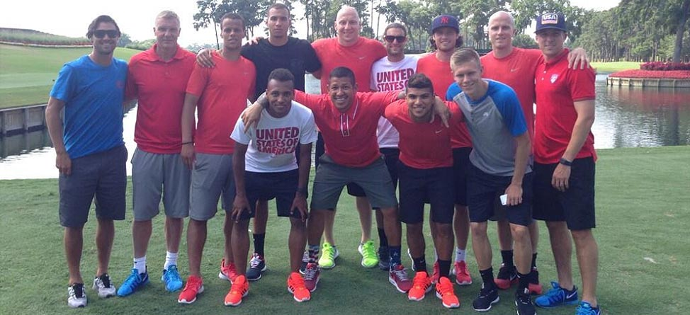 U.S. Men's Soccer Team Takes on 17th at TPC Sawgrass