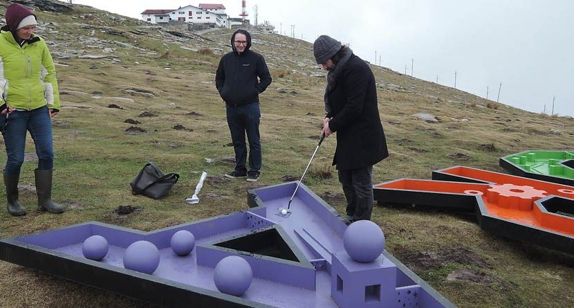 The World's Most Remote Mini Golf Course