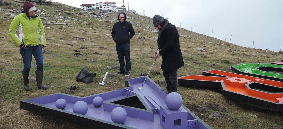 The World's Most Remote Mini Golf Course