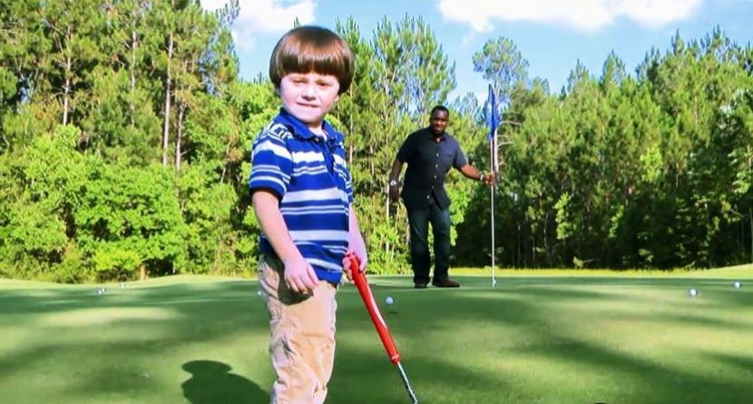 'Baby James' Already Drawing Tiger Woods Comparisons