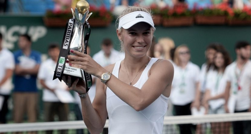 While Rory McIlroy Was Winning, So Was Caroline Wozniacki