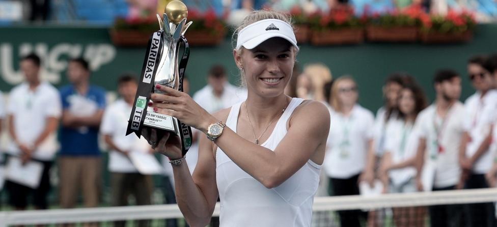 While Rory McIlroy Was Winning, So Was Caroline Wozniacki