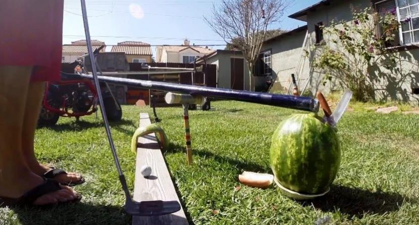 A Trick Shot So Incredible You'll be Hungry for a Hot Dog