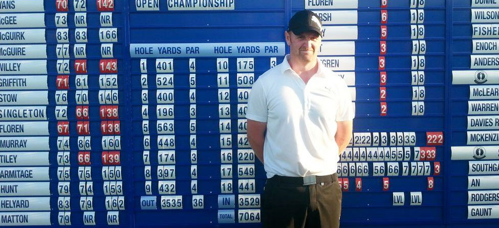 Factory Worker Qualifies For The Open With Borrowed Clubs