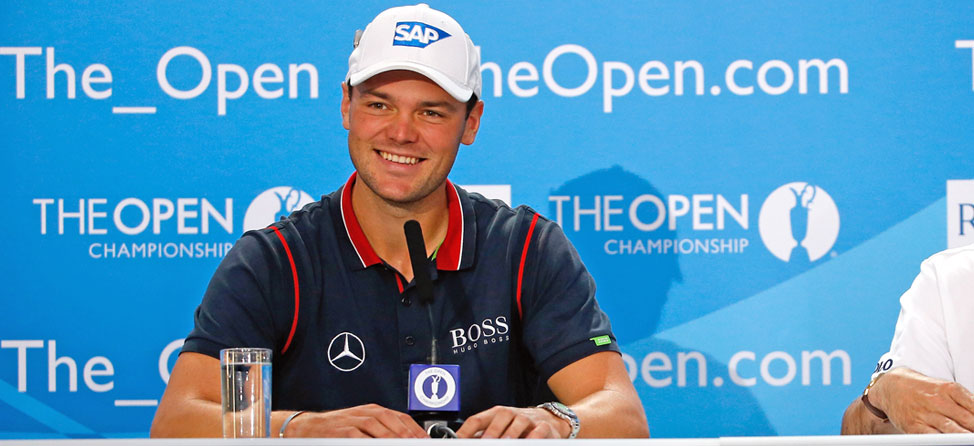 Despite Ranking, No One Better Than Martin Kaymer Right Now