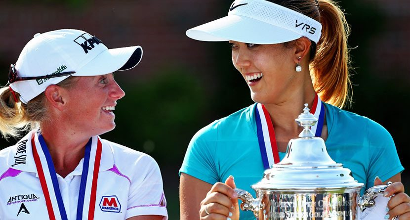 Michelle Wie & Stacy Lewis: Friends or Rivals?