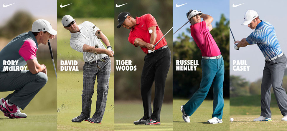 Open Championship 2014: Nike Golf Players Scripting