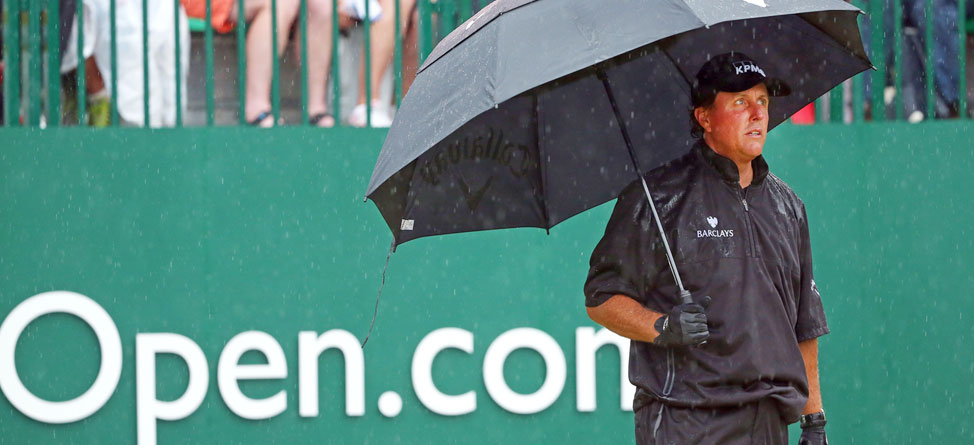 Defending Open Champion Phil Mickelson's Struggles Continue