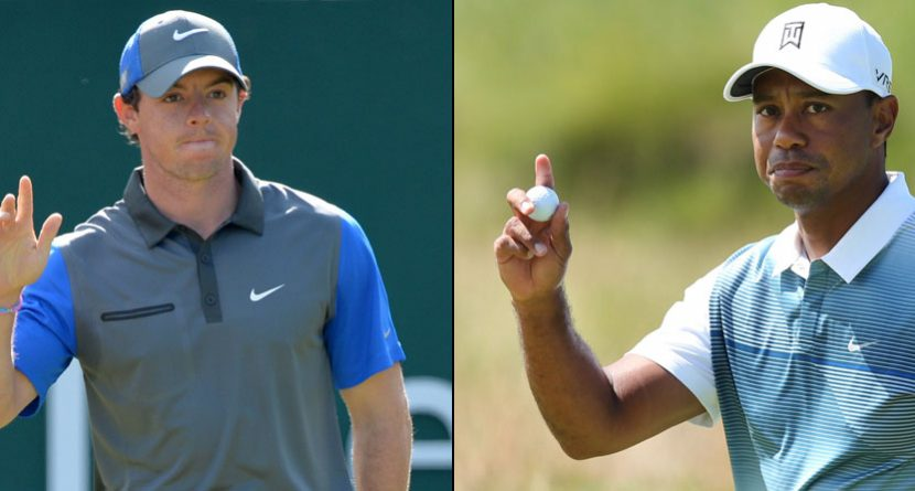 The Odds: McIlroy, Woods Move Up After Impressive First Rounds