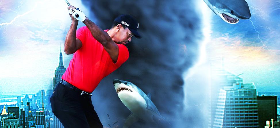 Coming Soon… Tiger vs. Sharknado!