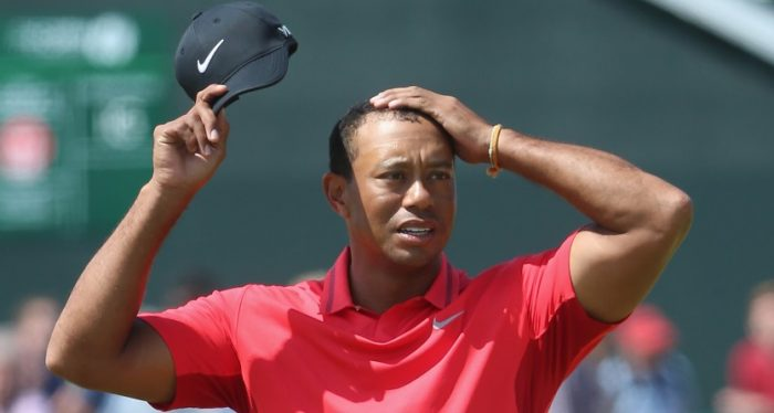 smooth move  tiger woods considers shaving head