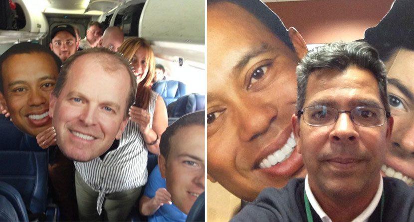 Big Headed Golfers Are Invading the WGC-Bridgestone