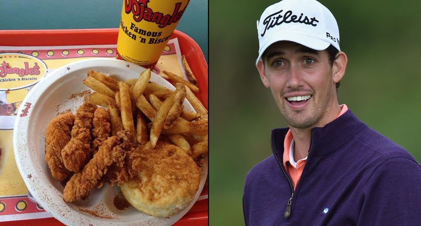 Golfers Return to America and the Comfort of Fast Food