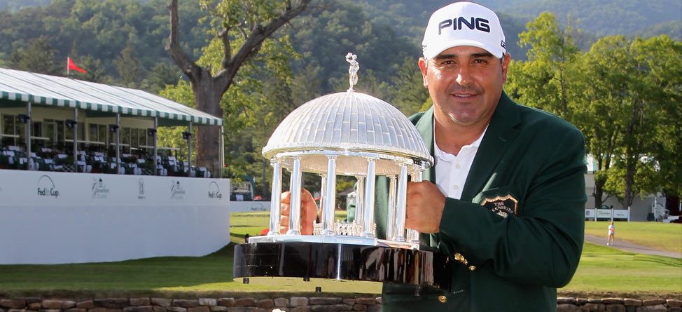 Weekend Recap: Angel Cabrera, Greenbrier Fans Win Big
