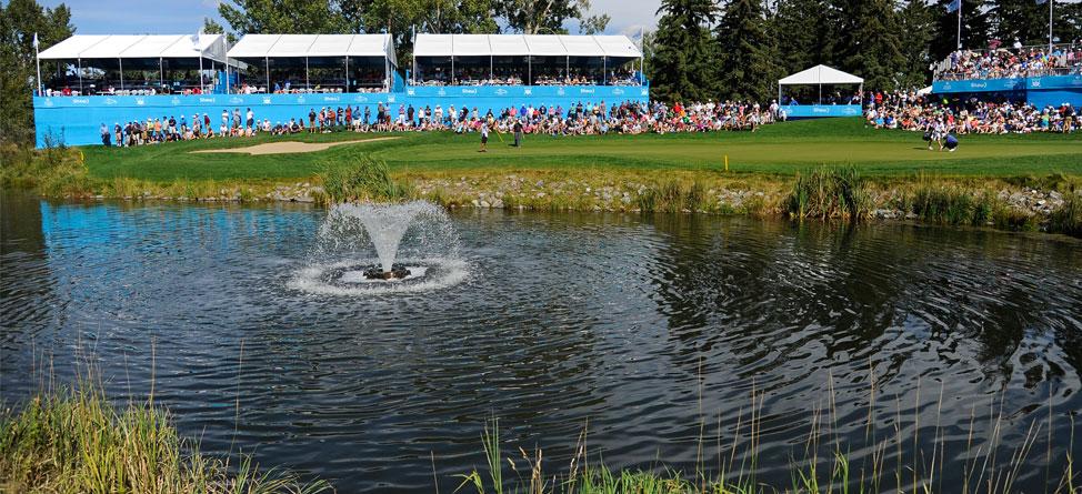 Golf Pro Saves Man From Sinking Minivan In Water Hazard