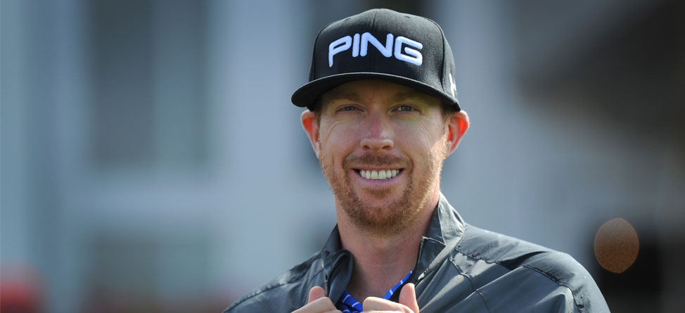 Hunter Mahan Went Undercover and Unnoticed at Under Armour