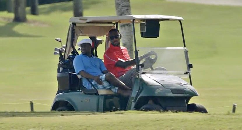 Cleveland Rocks: 5 Places LeBron Can Work On His Golf Game