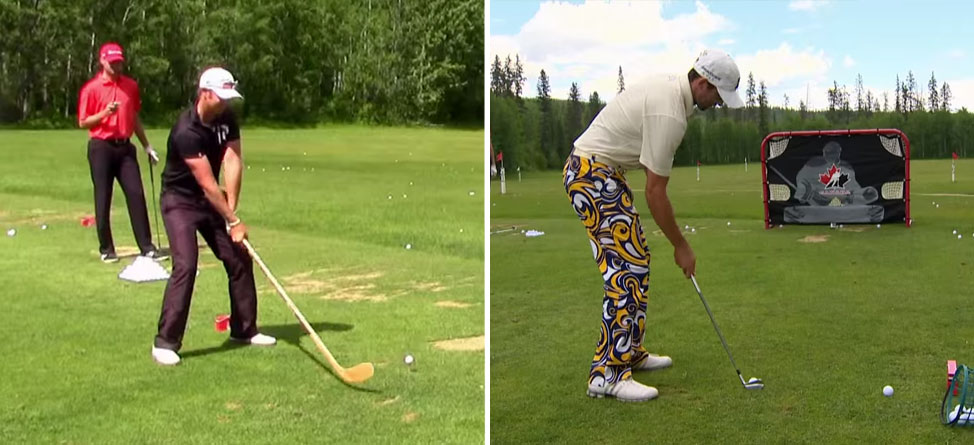 NHL Players Hone Their Skills in Golf Combine