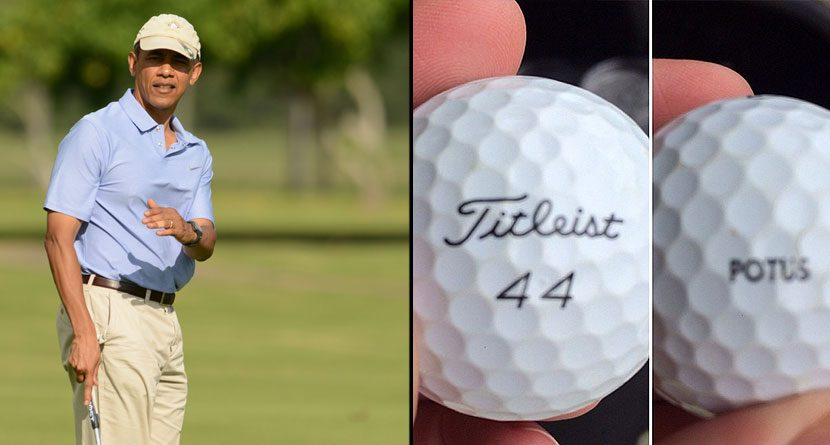 Forty FORE! Golfer Finds Obama's Lost Ball In Woods