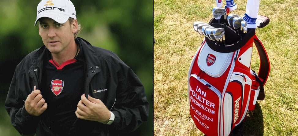 Ian Poulter Has Arsenal Backing Him at Open Championship