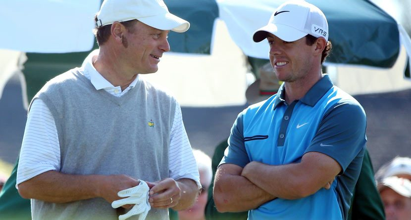 Rory McIlroy Really Wants Grand Slam, Calls On Augusta Member