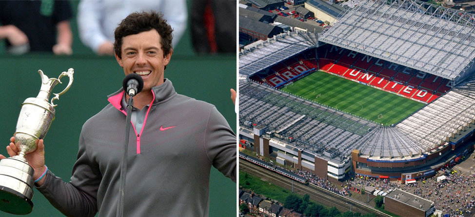 Rory McIlroy to Parade Claret Jug at Manchester United Game